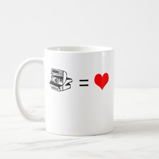 Polaroid = amor - taza