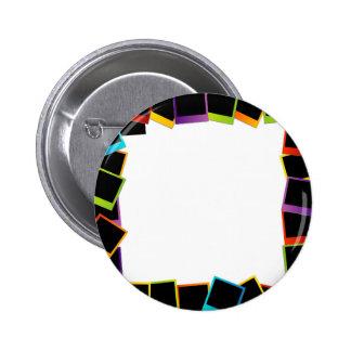 Polaroid frame- colorful polaroids pin
