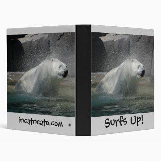 Polars Bears 3 Ring Binder
