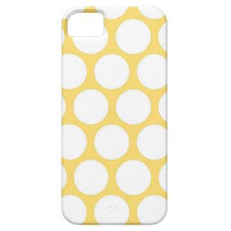 Polca amarilla doty iPhone 5 Case-Mate funda