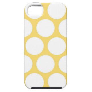 Polca amarilla doty iPhone 5 Case-Mate protectores