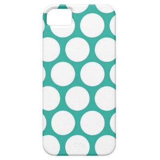 Polca azul doty iPhone 5 cárcasas