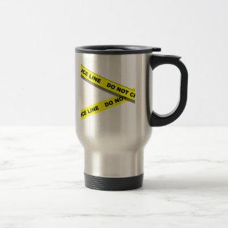 Polcie Line Travel Mug