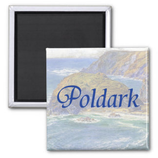 Poldark 2 Inch Square Magnet