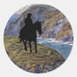 Poldark Classic Round Sticker