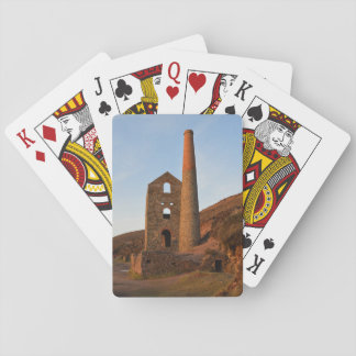 Poldark Country Mine Ruins Cornwall England Playing Cards