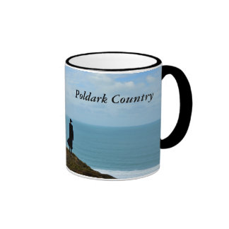 Poldark Country Photo Cornwall England Ringer Mug