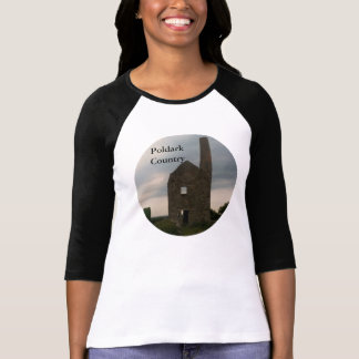 Poldark Country Wheal Peevor Tin Mine Cornwall UK T-Shirt