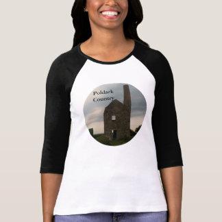 Poldark Country Wheal Peevor Tin Mine Cornwall UK Tshirt