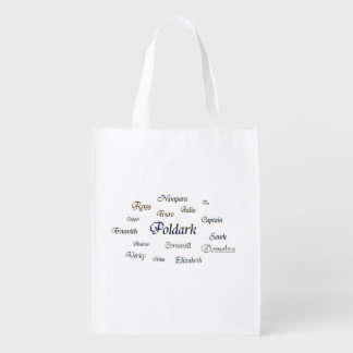 Poldark Names Grocery Bag