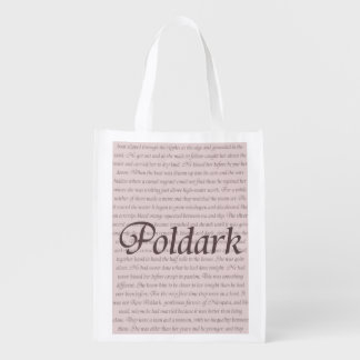 Poldark Quote Grocery Bag