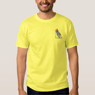 Pole Bending Embroidered T-Shirt