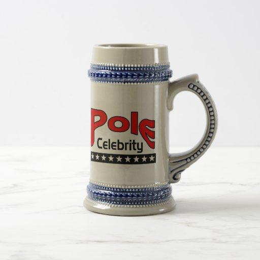 Pole Celebrity 18 Oz Beer Stein