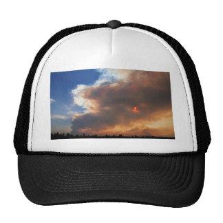 Pole Creek Fire, Sisters, Oregon Trucker Hat