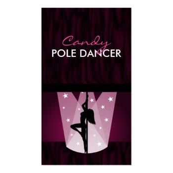 Pole Dancer Business Card