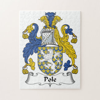 Pole Family Crest Puzzles