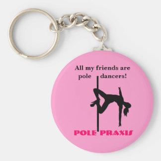 Pole Friends Keychain