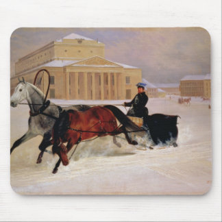 Pole Pair with a Trace Horse at  Bolshoi Mouse Pad
