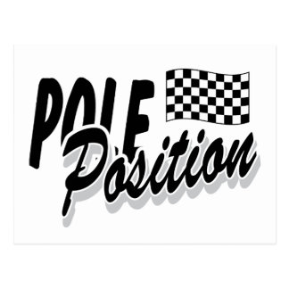 Pole Position Postcard