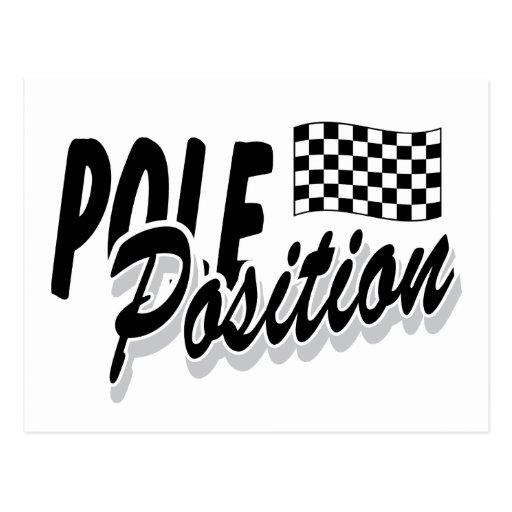 Pole Position Postcard