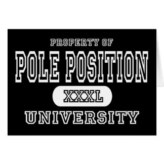 Pole Position University Dark Card