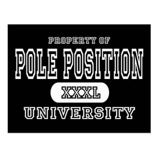 Pole Position University Dark Postcard