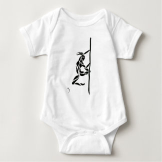 Pole Reverse Grip Spin Baby Bodysuit
