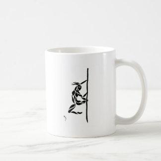 Pole Reverse Grip Spin Coffee Mug