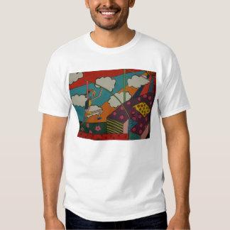 pole vault art t-shirts