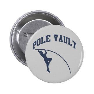 Pole Vault 2 Inch Round Button