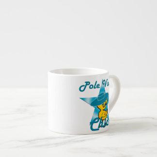 Pole Vault Chick #7 Espresso Cup