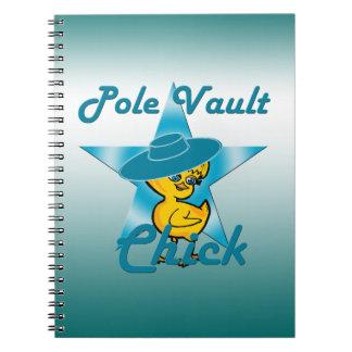 Pole Vault Chick #7 Notebook