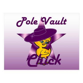 Pole Vault Chick #9 Postcard
