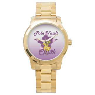Pole Vault Chick #9 Wristwatch