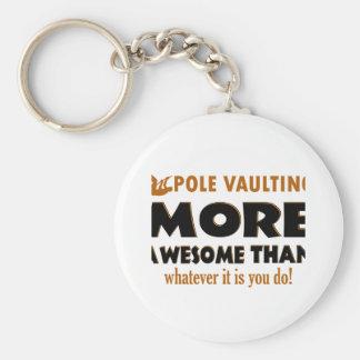 Pole vault designs keychain