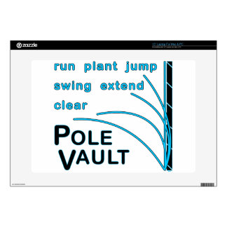 Pole Vault Essential Window Cling Decals For Laptops