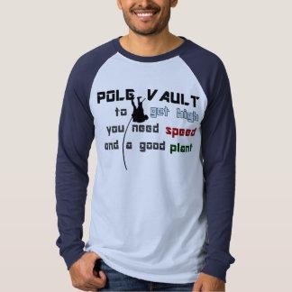 Pole Vault, Get High Tee Shirt