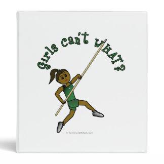 Pole Vault - Green (Dark) Vinyl Binders