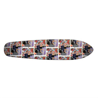 pole vault longboard skateboard deck