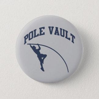 Pole Vault Pinback Button
