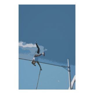 Pole Vault Poster/Print Poster