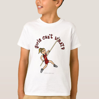 Pole Vault - Red (Light) T-Shirt