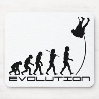 Pole Vault Sport Evolution Art Mouse Pad