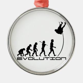 Pole Vault Sport Evolution Art Ornaments