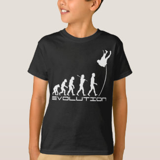 Pole Vault Sport Evolution Art T-Shirt