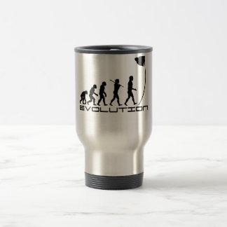Pole Vault Sport Evolution Art Travel Mug