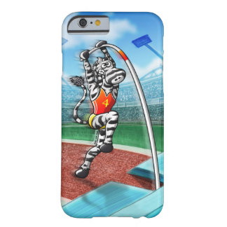 Pole Vault Zebra Barely There iPhone 6 Case