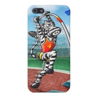 Pole Vault Zebra iPhone SE/5/5s Case