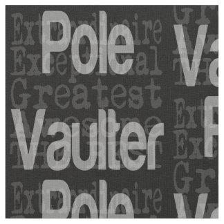 Pole Vaulter Extraordinaire Fabric