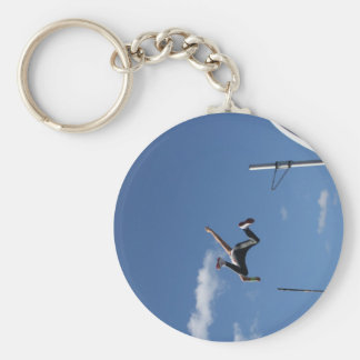 Pole Vaulter  Key Chain